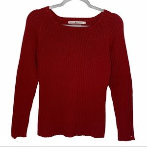 Tommy Hilfiger Women's Cable Knit Sweater Size M